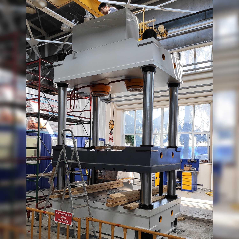 Гидравлический пресс 400 тонн с сервоприводом